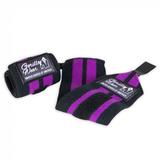 Wrist Wraps Vrouwen Black/Purple | Gorilla Wear®_