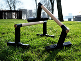 Wooden Parallettes | StreetGains®_