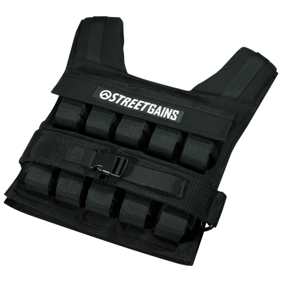 Weight Vest 20KG Black | StreetGains®