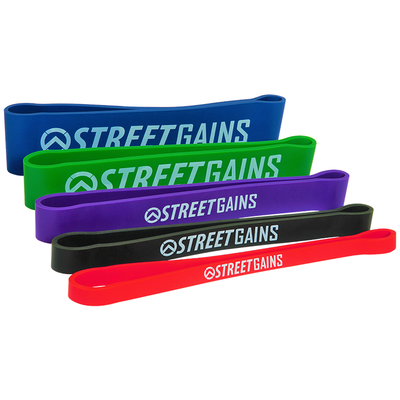 Short Resistance Bands Per Unit | StreetGains