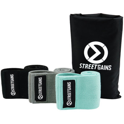 Fabric Booty Bands Pack Resistance Bands | StreetGains®