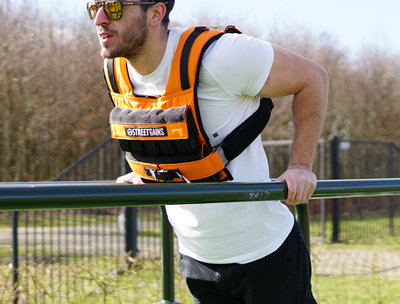 Weight Vest 20KG Orange | StreetGains®
