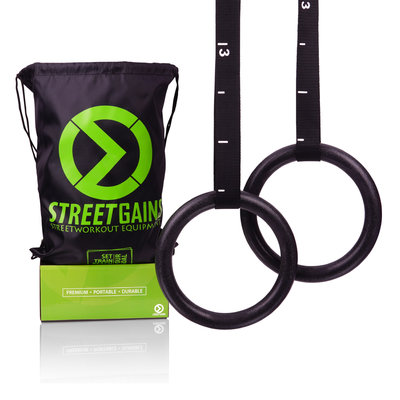 ABS Gymnastic Rings | StreetGains®