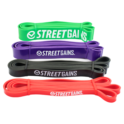 Muscle Up Pack - Resistance Fitness Bands | StreetGains®