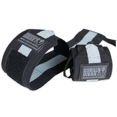 Wrist Wraps ULTRA Black / Grey | Gorilla Wear®