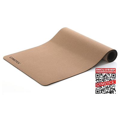 Active Fitnessmat Cork 4MM | Gymstick®