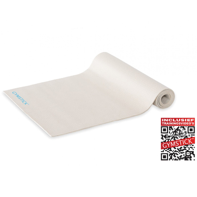Active Fitness Mat White 4MM | Gymstick®