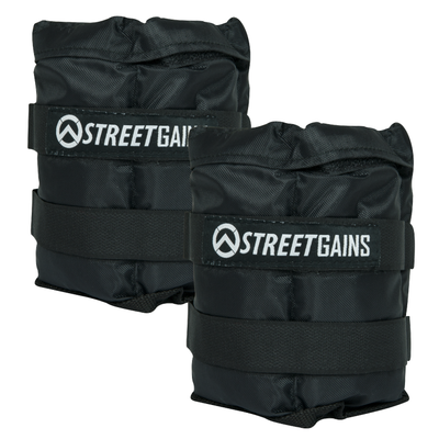 Adjustable Ankle Weights 5KG | StreetGains®