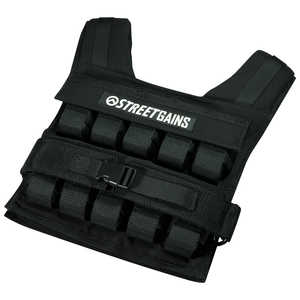 Weight Vest 20KG Black | StreetGains®