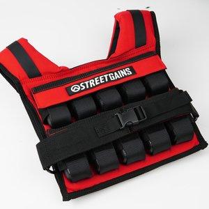 Weight Vest 20KG Red | StreetGains®