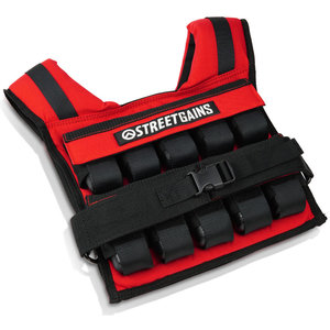 Weight Vest 20KG Red | StreetGains®