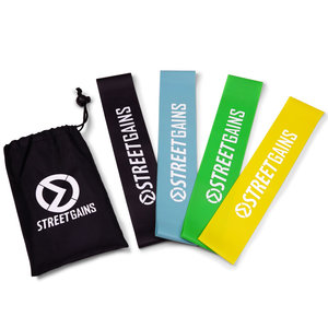 Rubber Booty Bands Pack - Mini Resistance Bands | StreetGains®