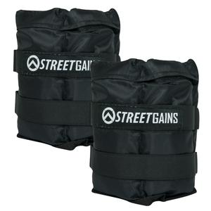 Adjustable Ankle Weights 10KG | StreetGains®